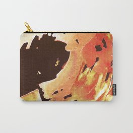 Rose Gold Wave Carry-All Pouch