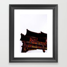 Bridge Over Chinatown  Framed Art Print