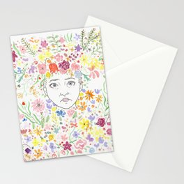 may queen Stationery Cards