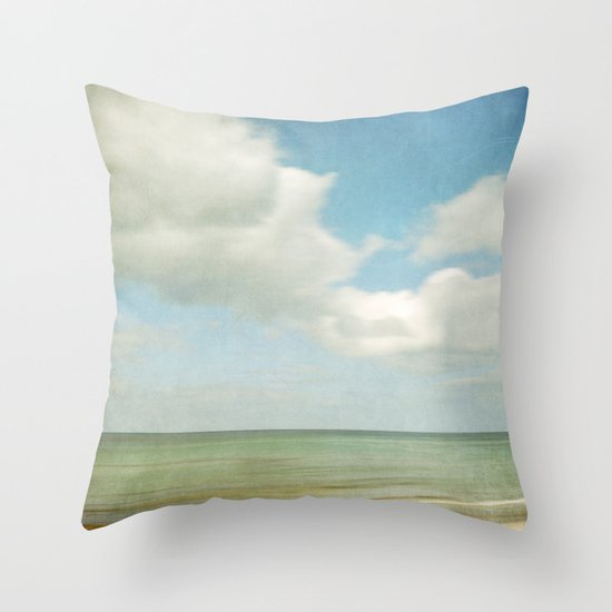 sea square IV Throw Pillow