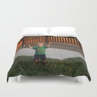 ace Duvet Covers featuring Ace by Samual Lewis Davis BMmSt CQU
