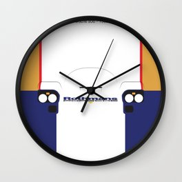 Minimal 956 1982 Le Mans Wall Clock