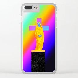 Faith Clear iPhone Case