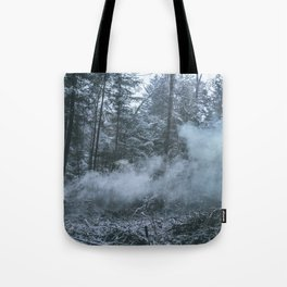 dark smoke Tote Bag