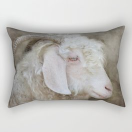 The beautiful goat Rectangular Pillow