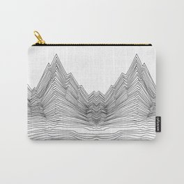 Graphic Line mountain Carry-All Pouch