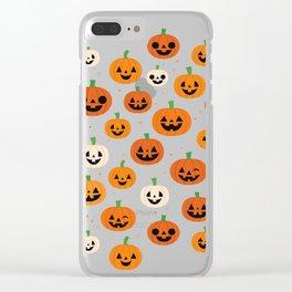 Jack-o-lanterns Clear iPhone Case