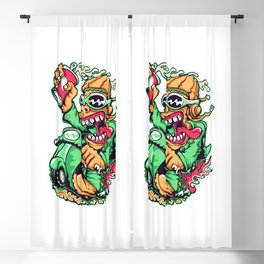 GREEN - Scooter Blackout Curtain