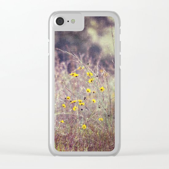 Morning Kisses Clear iPhone Case
