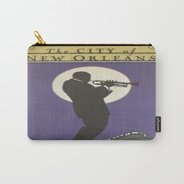 Vintage poster - City of New Orleans Carry-All Pouch