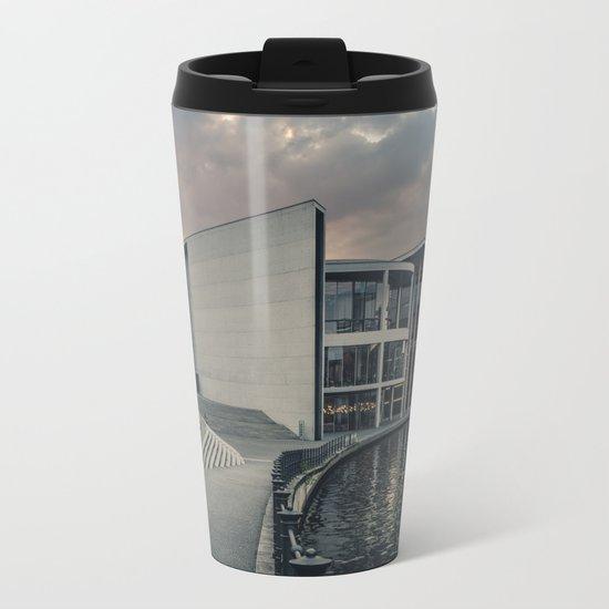 Paul-Löbe-Haus Metal Travel Mug
