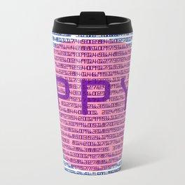 3D π Metal Travel Mug