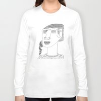 sunglasses Long Sleeve T-shirts featuring Sunglasses by Max Bayarsky