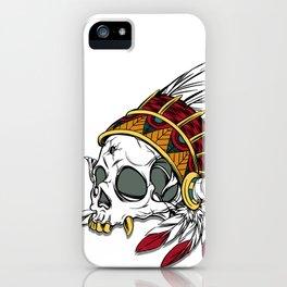 Geronimo's Head iPhone Case
