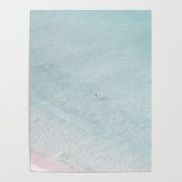 beach - the swimmer Poster