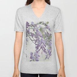 Wisteria Lavender Unisex V-Neck