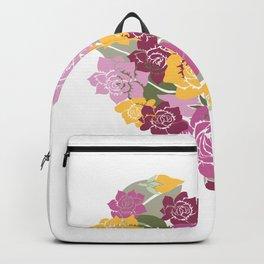 Gardenia Heart Backpack