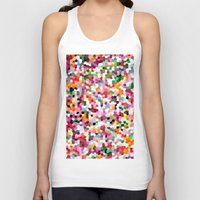 mosaic Tank Tops featuring Mosaic by Laura Ruth