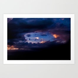 Hole In The Sky Art Print