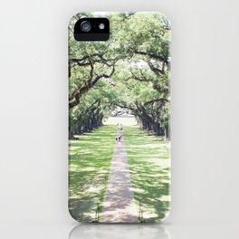 Oak Alley iPhone Case