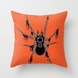 FreakSpider Throw Pillow