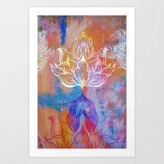 Bindu Alligning Art Print