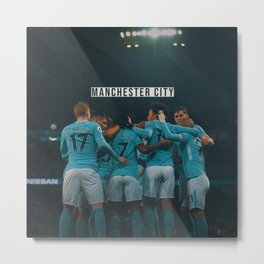Manchester City Metal Print