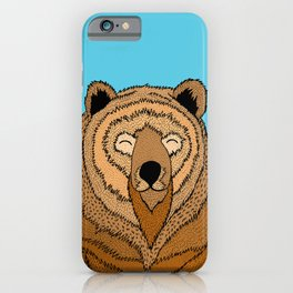The Happy Bear iPhone Case