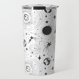 Solar System - White Travel Mug