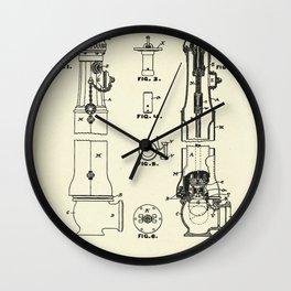 Hydrant-1889 Wall Clock