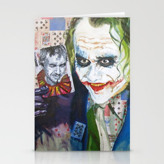 Jokes on You (JOKER) Stationery Cards