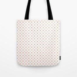 Criss Cross Dots Tote Bag