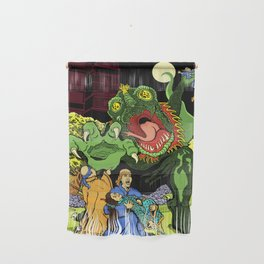 Monster in the Garden of Sorrow Wall Hanging