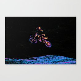 AIR TIME - Motocross Sports Art Canvas Print
