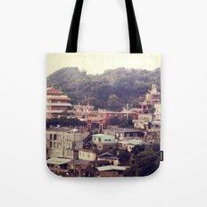 Mountain Town Tote Bag