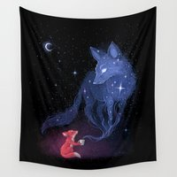celestial Wall Tapestries featuring Celestial by Freeminds