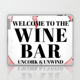 wine bar no. 1 Laptop & iPad Skin