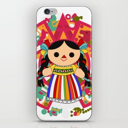 Maria 2 (Mexican Doll) iPhone Skin