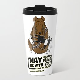 Frod0 the Sheltie: May the Furs Be With You (Wendy) Travel Mug