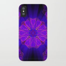 Boho Inner Light Purple iPhone Case