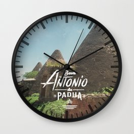 San Antonio de Padua Wall Clock