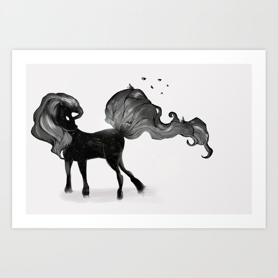 Dream Pony  Art Print