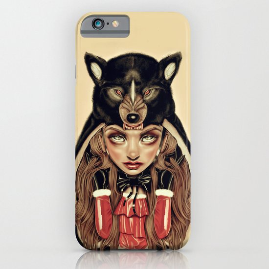 Red Riding Hood iPhone & iPod Case