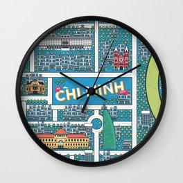 Ho Chi Minh City Wall Clock