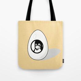 LINUX TUX EGG BRAND Tote Bag