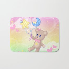 Floating Through Dreamland Bath Mat