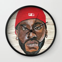 Bankroll Fresh Wall Clock