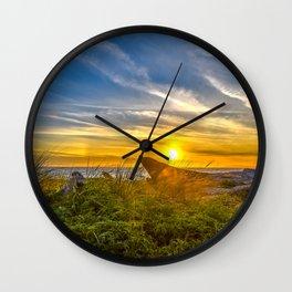 Deception Sunset Wall Clock