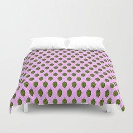 Hops Light Purple Pattern Duvet Cover
