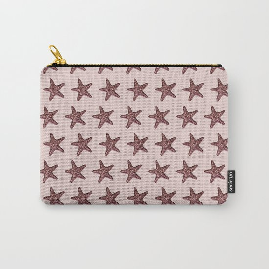 Starfish - Sea Star - Pattern #2 #decor #art #society6 Carry-All Pouch